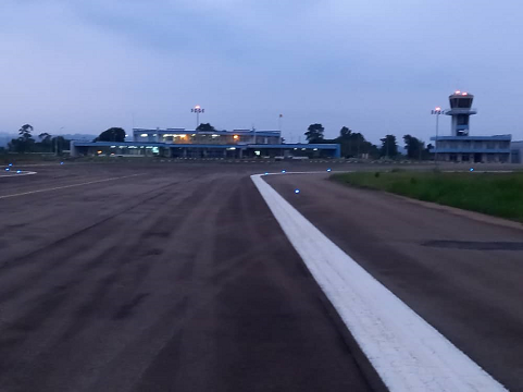 View of the Bafoussam Bamoungoum airport as of October 2021.