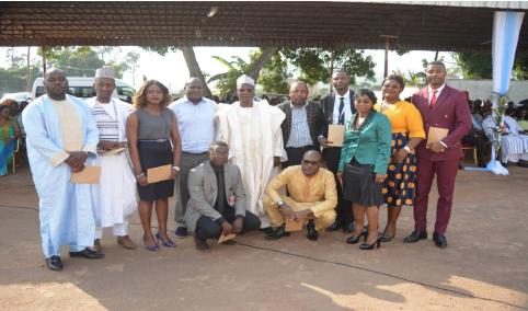Le DGA et les agents félicités à l'occasion de la présentation des voeux 2020 à la CCAA