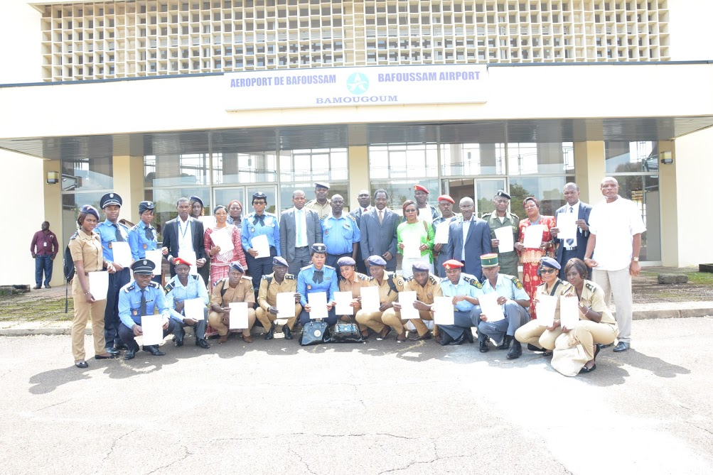 Airport Operations Bafoussam - Bamougoum : training of security actors !