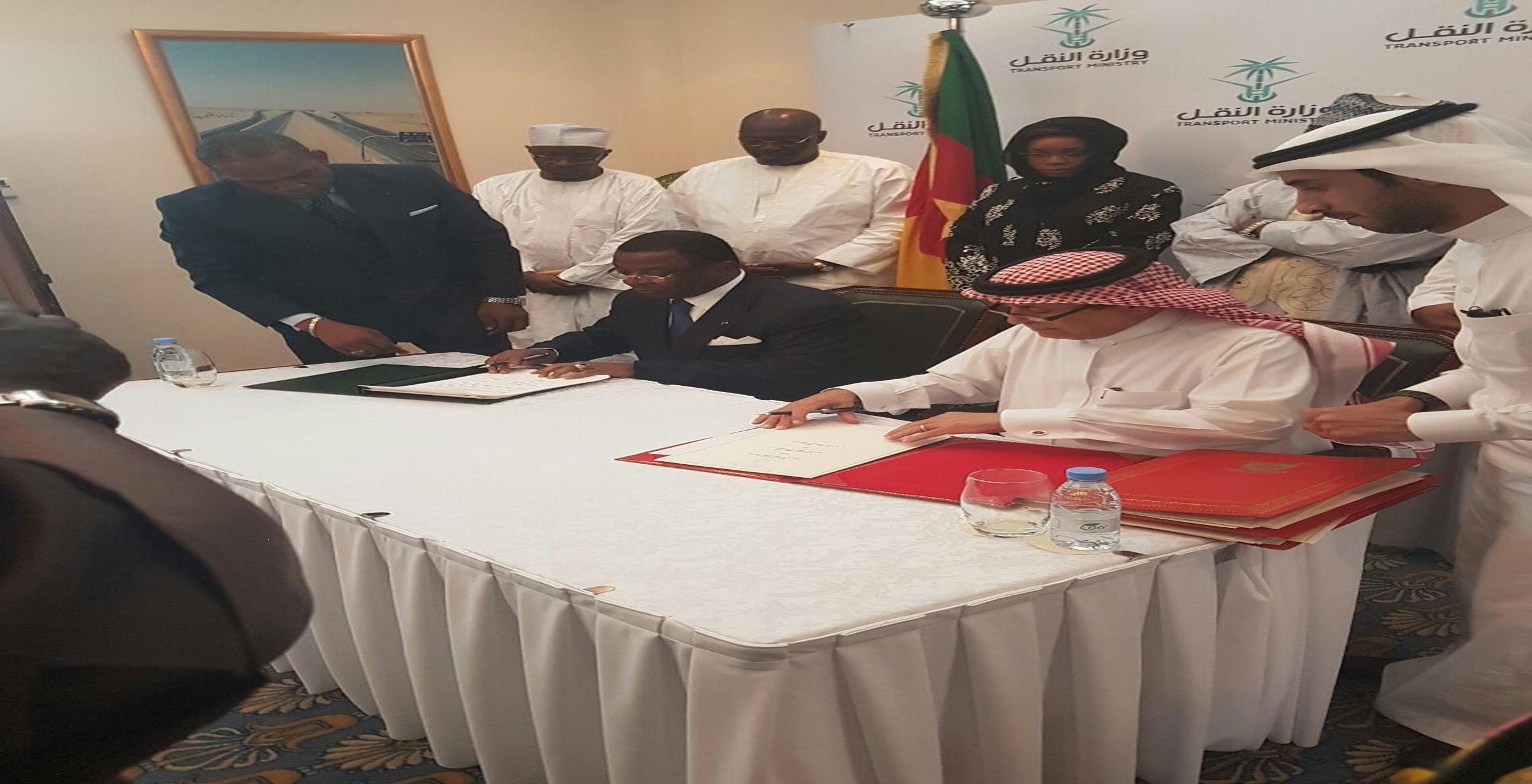 Le Royaume de l'Arabie Saoudite et la République du Cameroun ont procédé à la signature d'un Accord aérien...